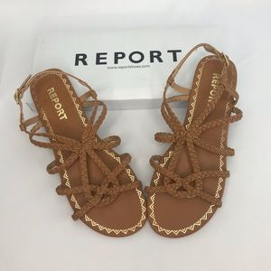 REPORT sandals size 8.5